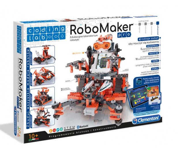 Clementoni Laboratorium robotyki Robomaker - 432426 - zdjęcie
