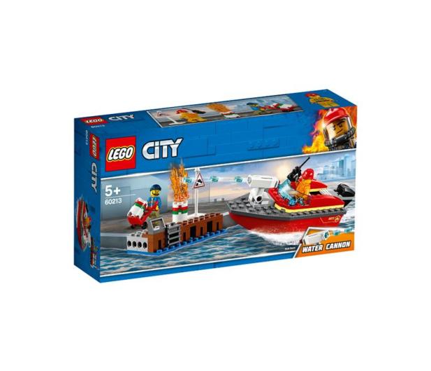 LEGO City Pożar w dokach - 465087 - zdjęcie