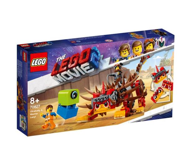 LEGO Movie UltraKocia i Lucy Wojowniczka - 465108 - zdjęcie