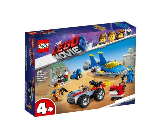 LEGO Movie Warsztat Emmeta i Benka - 465102 - zdjęcie