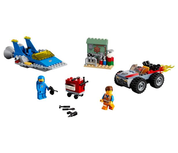 LEGO Movie Warsztat Emmeta i Benka - 465102 - zdjęcie 2