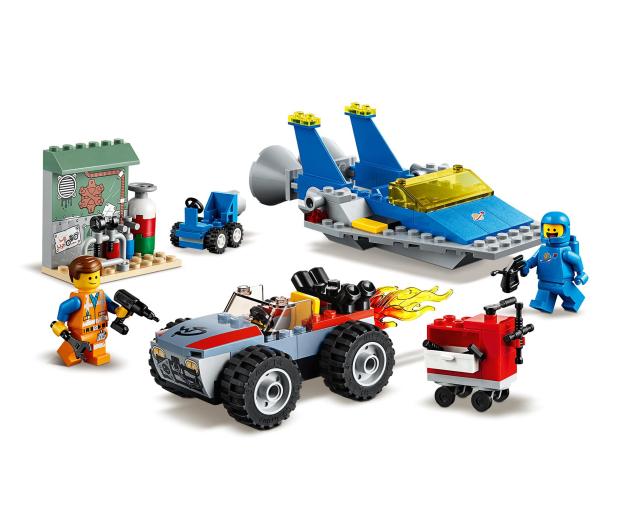 LEGO Movie Warsztat Emmeta i Benka - 465102 - zdjęcie 3