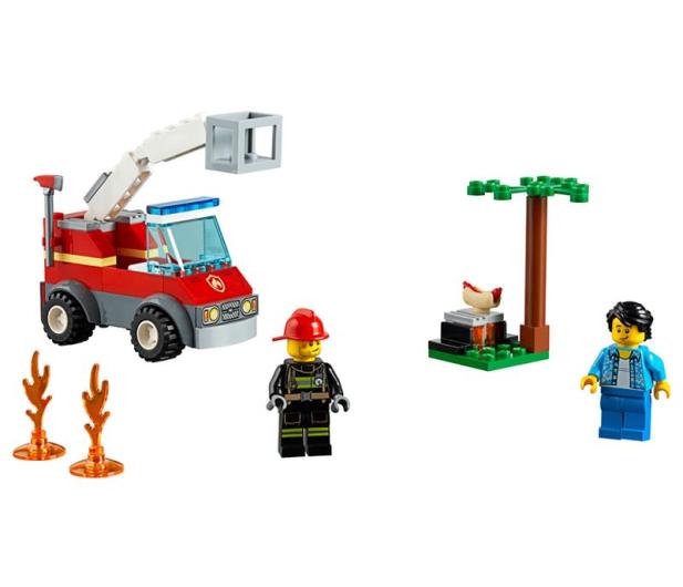 LEGO City Płonący grill - 465086 - zdjęcie 2