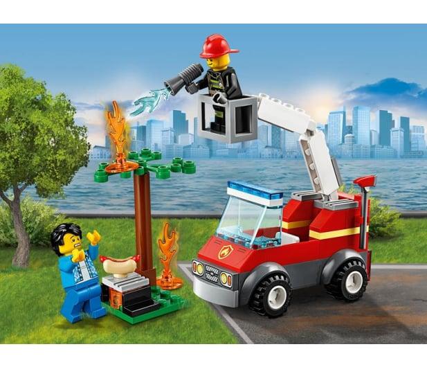 LEGO City Płonący grill - 465086 - zdjęcie 3