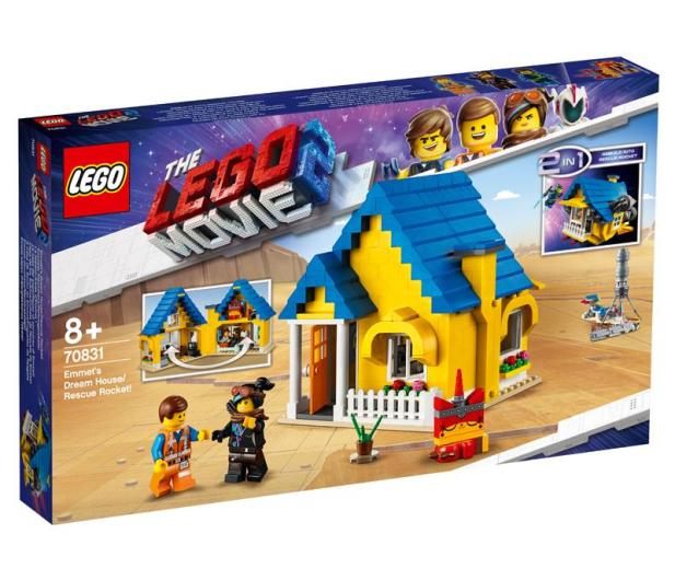 LEGO Movie Dom Emmeta/Rakieta ratunkowa - 465112 - zdjęcie