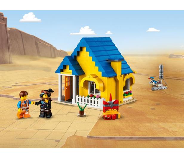 LEGO Movie Dom Emmeta/Rakieta ratunkowa - 465112 - zdjęcie 3