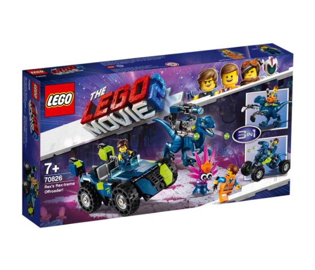 LEGO Movie Terenówka Rexa - 465107 - zdjęcie