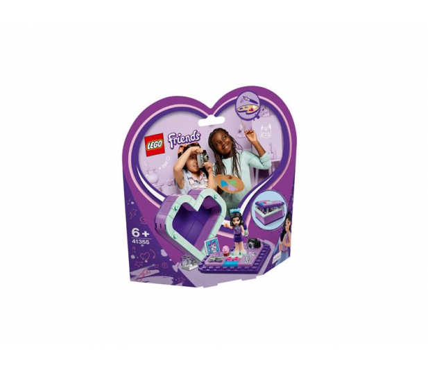LEGO Friends Pudełko w kształcie serca Emmy - 465057 - zdjęcie