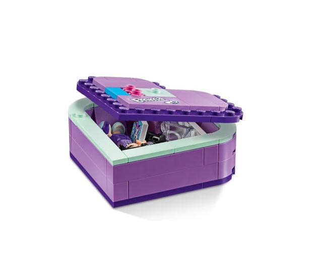 LEGO Friends Pudełko w kształcie serca Emmy - 465057 - zdjęcie 4