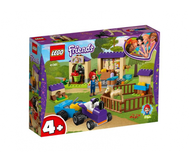 LEGO Friends Stajnia ze źrebakami Mii - 465064 - zdjęcie