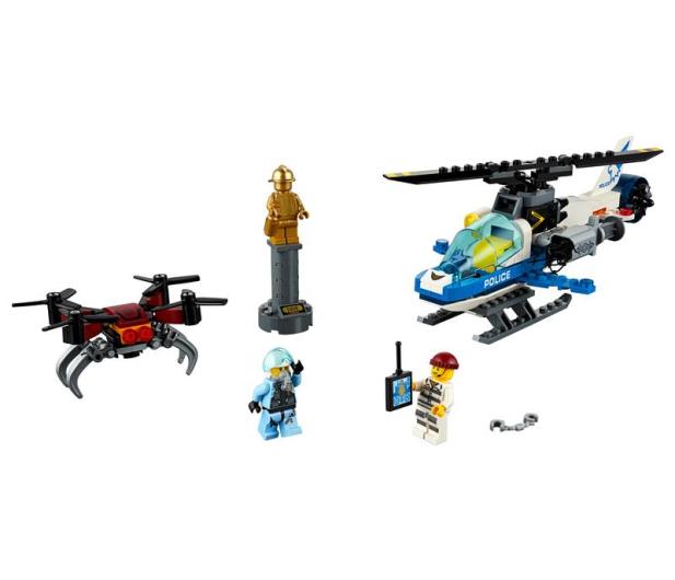LEGO City Pościg policyjnym dronem - 465082 - zdjęcie 2