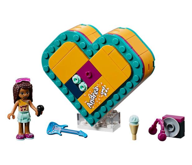 LEGO Friends Pudełko w kształcie serca Andrei - 465056 - zdjęcie 2