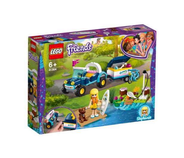 LEGO Friends Łazik z przyczepką Stephanie - 465068 - zdjęcie