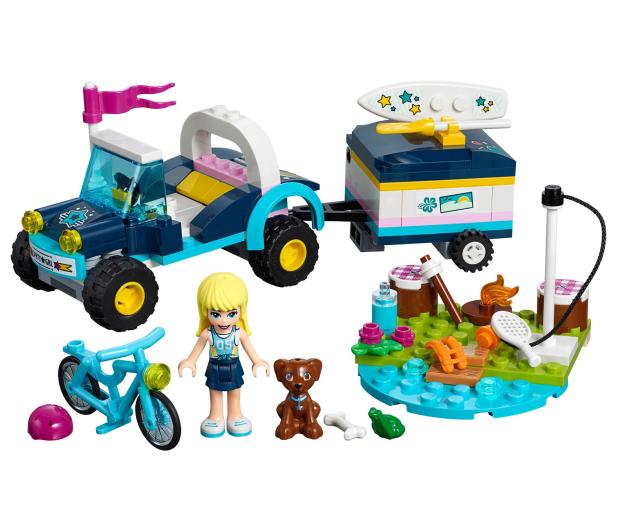 LEGO Friends Łazik z przyczepką Stephanie - 465068 - zdjęcie 2