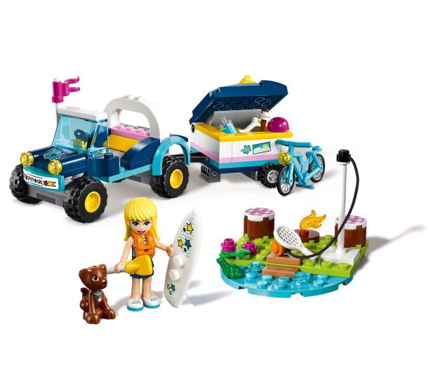 LEGO Friends Łazik z przyczepką Stephanie - 465068 - zdjęcie 3