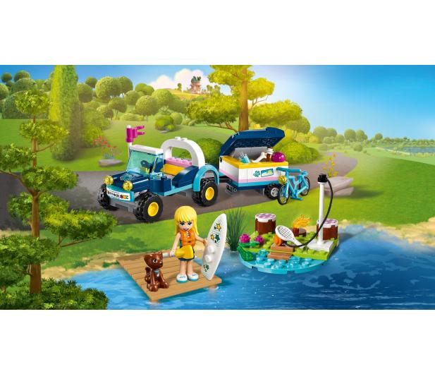 LEGO Friends Łazik z przyczepką Stephanie - 465068 - zdjęcie 5