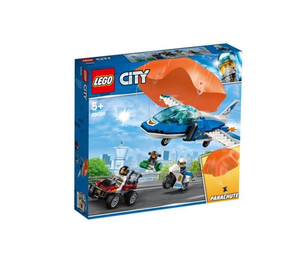 LEGO City Aresztowanie spadochroniarza - 465083 - zdjęcie