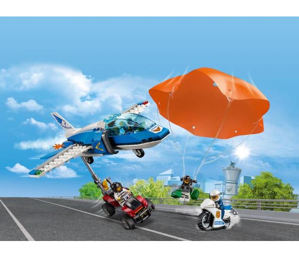 LEGO City Aresztowanie spadochroniarza - 465083 - zdjęcie 3
