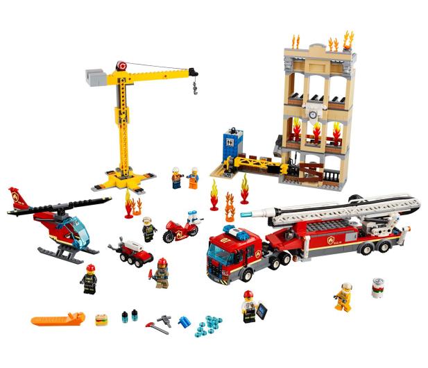 LEGO City Straż pożarna w śródmieściu - 465090 - zdjęcie 2