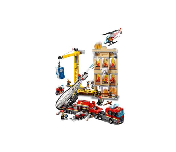 LEGO City Straż pożarna w śródmieściu - 465090 - zdjęcie 4