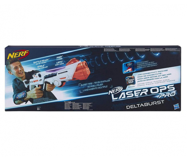 NERF Laser Ops Deltaburst na podczerwień - 460453 - zdjęcie 2