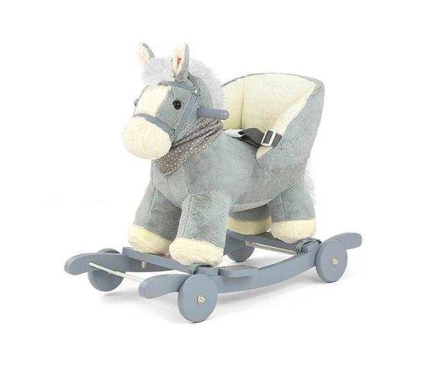 MILLY MALLY Koń na biegunach Polly szary - 460878 - zdjęcie