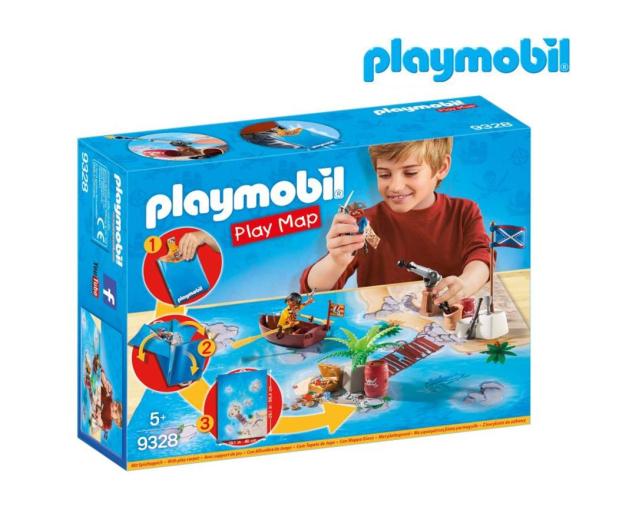 PLAYMOBIL Play Map Piraci - 467103 - zdjęcie