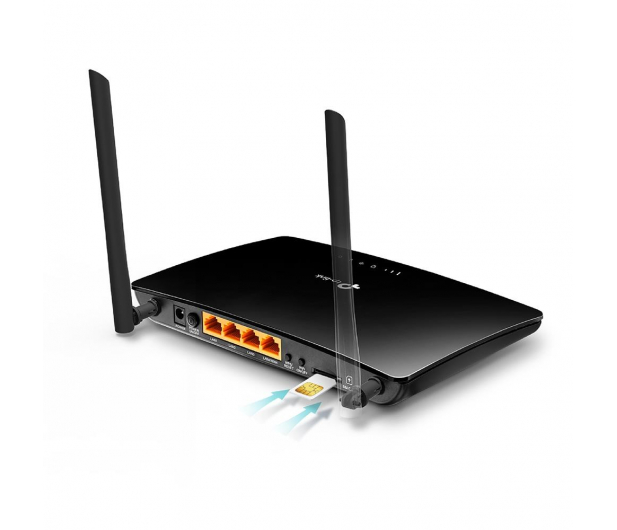 TP-Link TL-MR6400 300Mbps b/g/n 3G/4G (LTE) 150Mbps 4xLAN - 294297 - zdjęcie 4