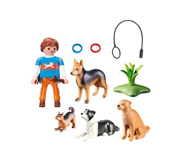 PLAYMOBIL Trener psów - 467156 - zdjęcie 3