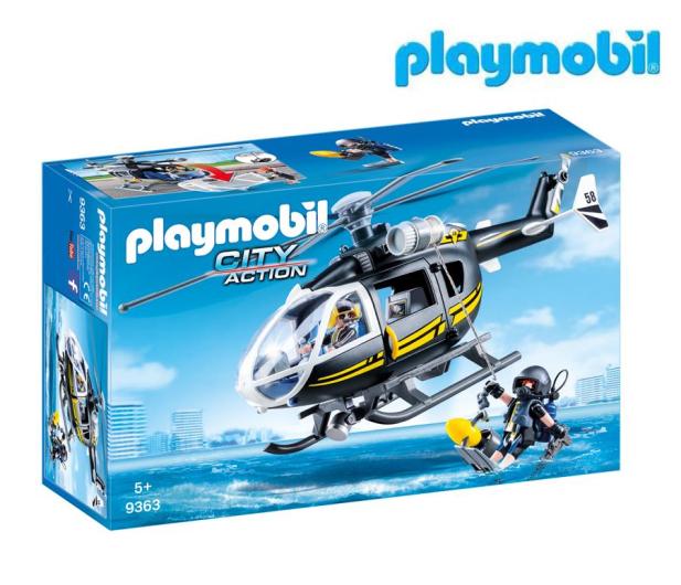 PLAYMOBIL Helikopter jednostki specjalnej - 467162 - zdjęcie