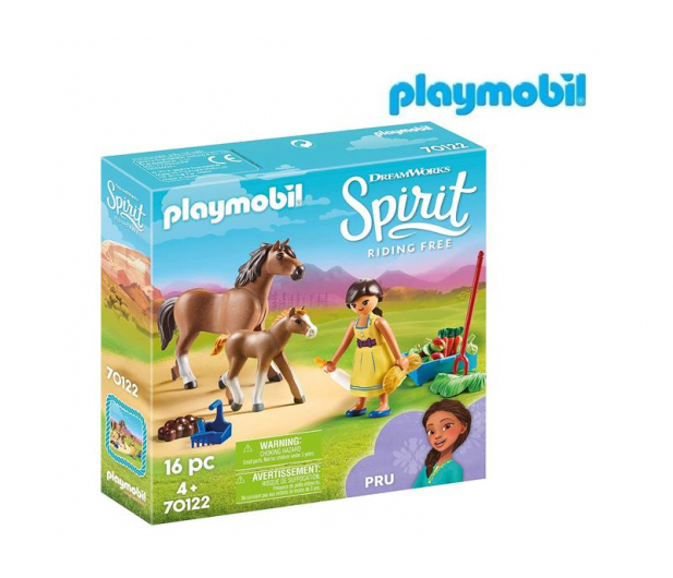PLAYMOBIL Pru z koniem i źrebakiem - 467362 - zdjęcie