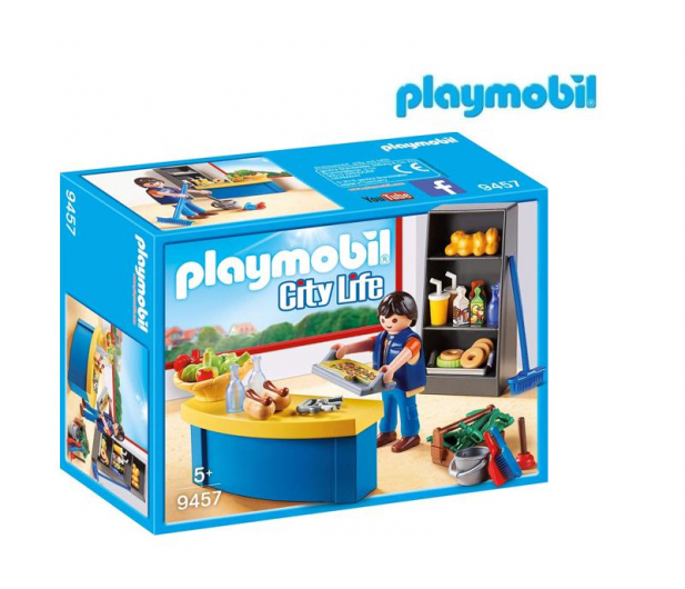 PLAYMOBIL Woźny w sklepiku - 467424 - zdjęcie