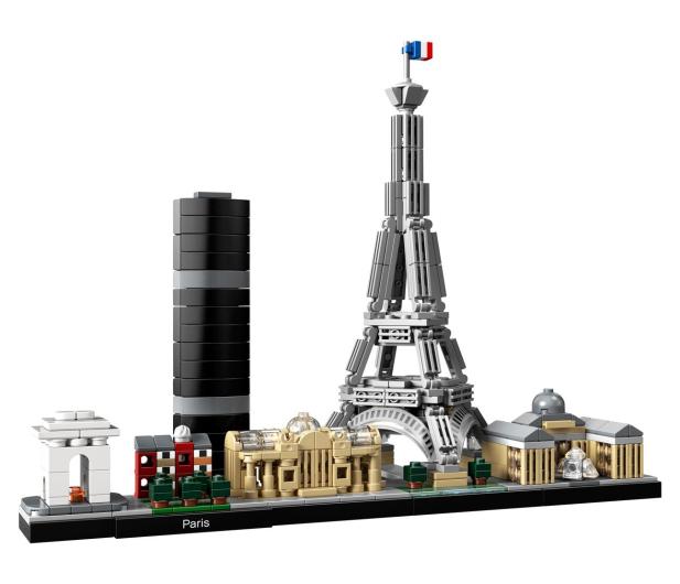 LEGO Architecture Paryż - 467540 - zdjęcie 2