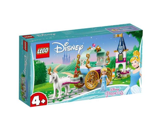 LEGO Disney Princess Przejażdżka karetą Kopciuszka - 467558 - zdjęcie