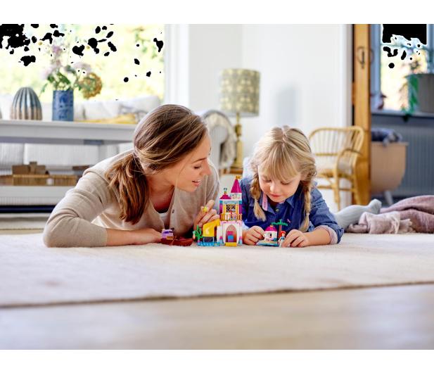 LEGO Disney Princess Nadmorski zamek Arielki - 467559 - zdjęcie 3