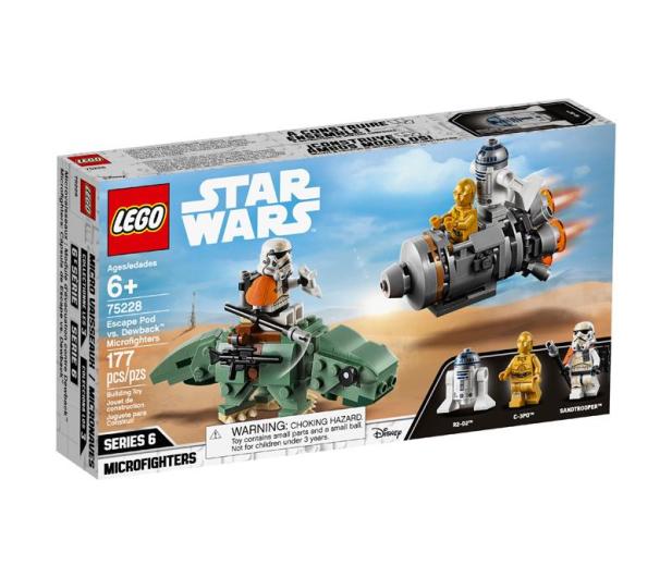 LEGO Star Wars Kapsuła ratunkowa kontra Dewback - 467614 - zdjęcie