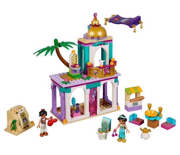 LEGO Disney Princess Pałacowe przygody Aladyna Jasminy - 467561 - zdjęcie 2