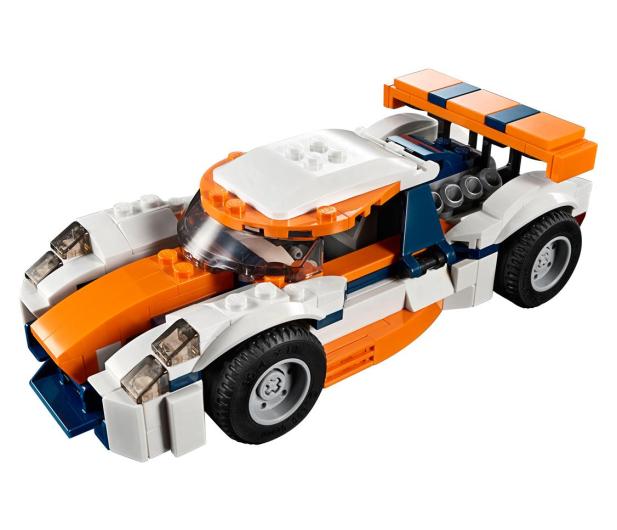 LEGO Creator Słoneczna wyścigówka - 467551 - zdjęcie 2