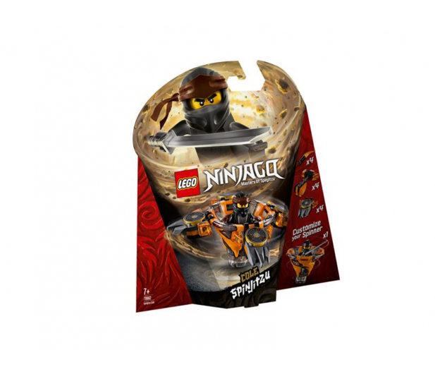 LEGO Ninjago Spinjitzu Cole - 467593 - zdjęcie