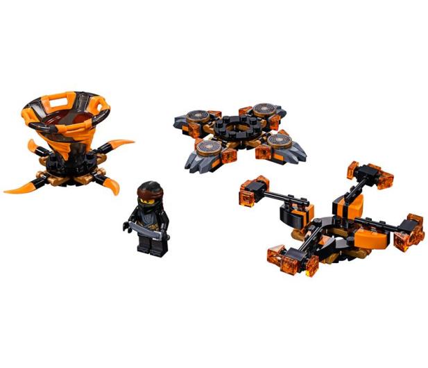 LEGO Ninjago Spinjitzu Cole - 467593 - zdjęcie 2
