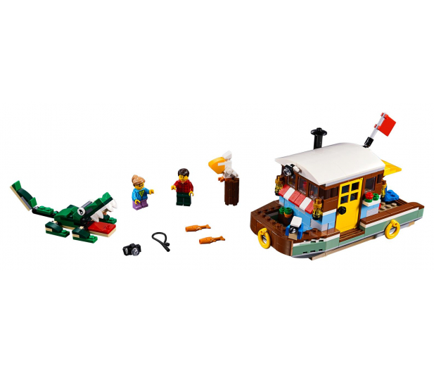 LEGO Creator Łódź mieszkalna - 467555 - zdjęcie 2