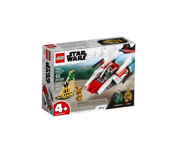 LEGO Star Wars Rebeliancki myśliwiec A-Wing - 467623 - zdjęcie