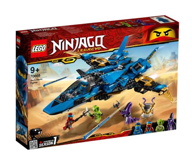 LEGO Ninjago Burzowy myśliwiec Jaya - 467602 - zdjęcie