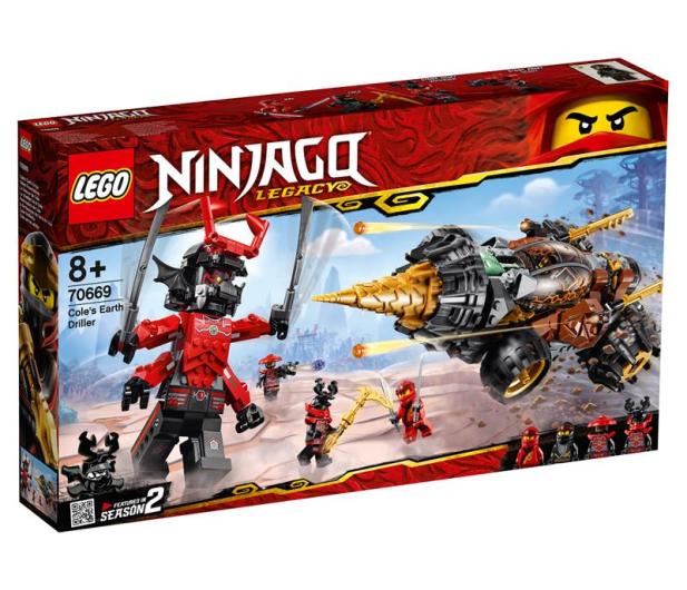 LEGO Ninjago Wiertło Cole'a - 467603 - zdjęcie