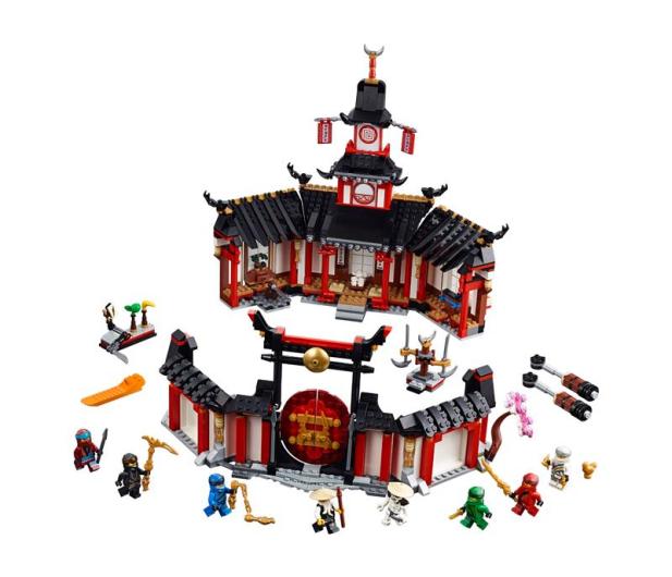 LEGO Ninjago Klasztor Spinjitzu - 467606 - zdjęcie 2
