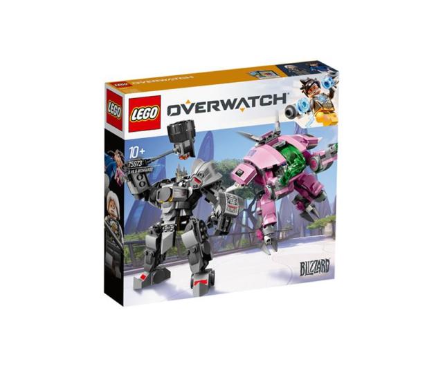 LEGO Overwatch D.Va & Reinhardt - 467642 - zdjęcie