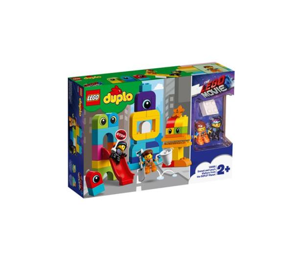 LEGO DUPLO Goście z planety DUPLO u Emmeta i Lucy - 465045 - zdjęcie