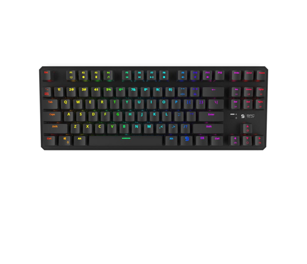 SPC Gear GK530 Tournament Kailh Blue RGB - 412043 - zdjęcie