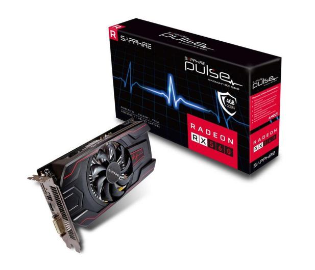 Sapphire Radeon RX 560 PULSE 4GB GDDR5 - 469084 - zdjęcie
