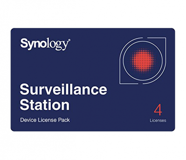 Synology Licencja Camera License Pack (4 dodatkowe kamery) - 223020 - zdjęcie